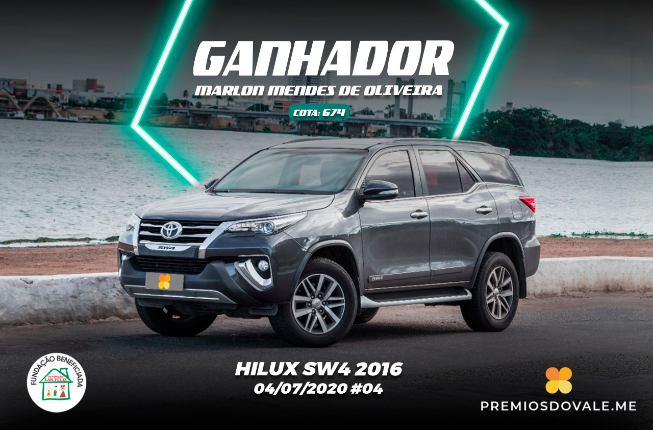 Hilux SW4 2016 #004